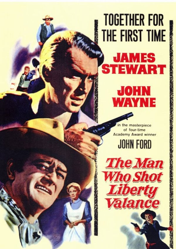 'The Man Who Shot Liberty Valance' movie poster