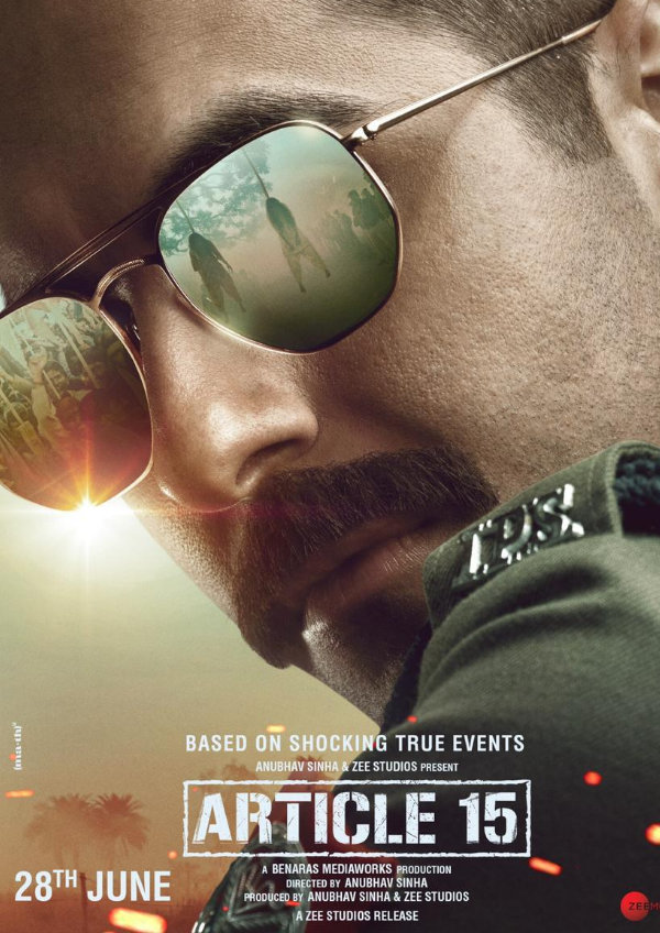 'Article 15' movie poster