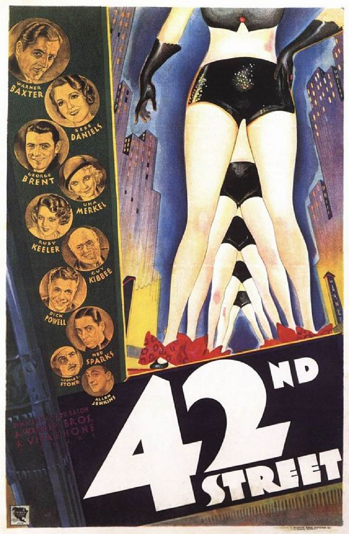 '42nd Street' movie poster