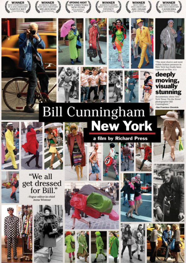 'Bill Cunningham: New York' movie poster