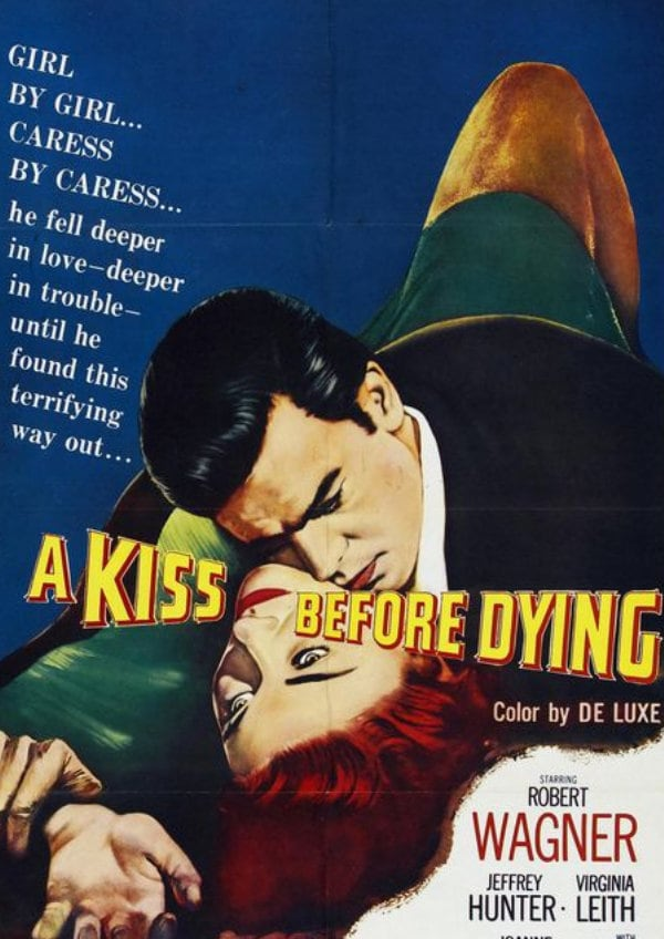 'A Kiss Before Dying' movie poster