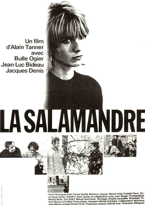 'The Salamander (La Salamandre)' movie poster