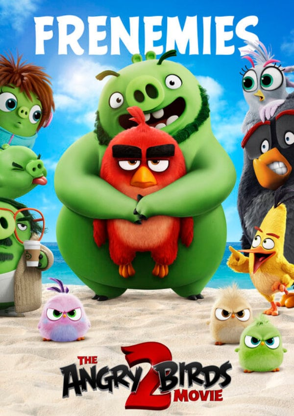 'The Angry Birds Movie 2' movie poster