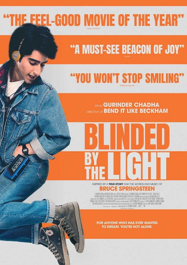 'Blinded By The Light' movie poster