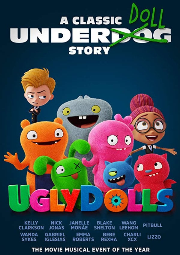 'UglyDolls' movie poster