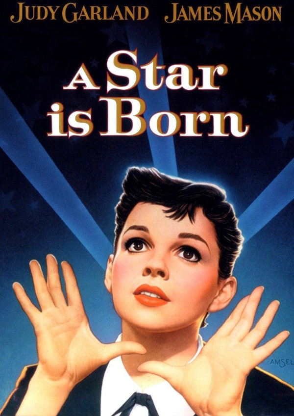 'A Star Is Born (1954)' movie poster
