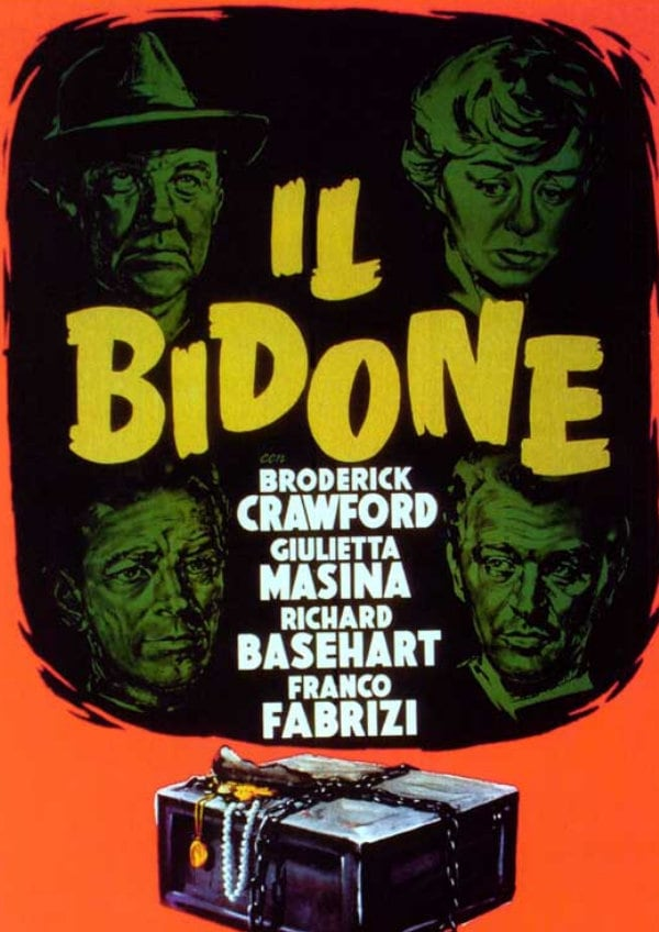 'The Swindlers (Il Bidone)' movie poster