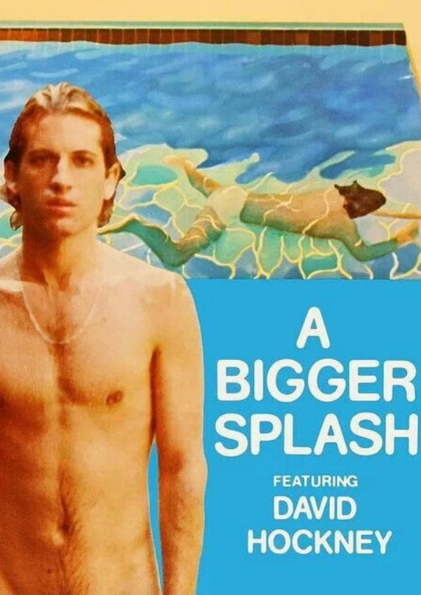 'A Bigger Splash (1974)' movie poster
