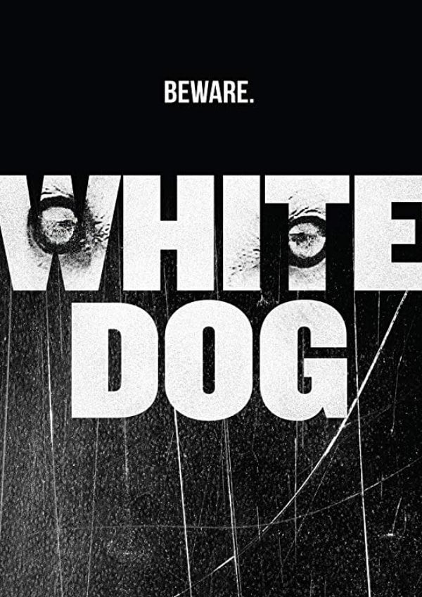 'White Dog' movie poster