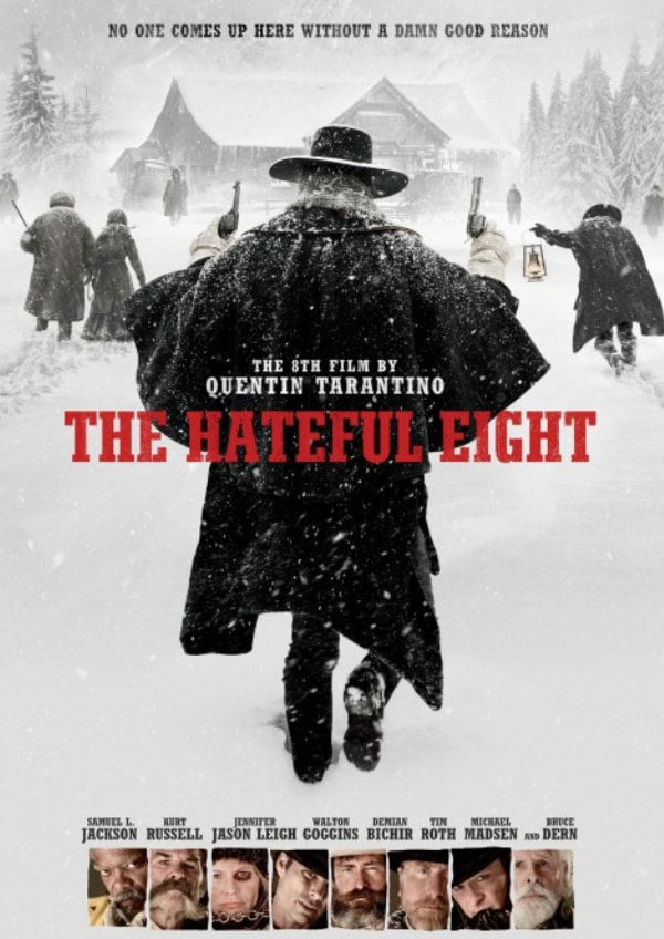 'The Hateful Eight' movie poster