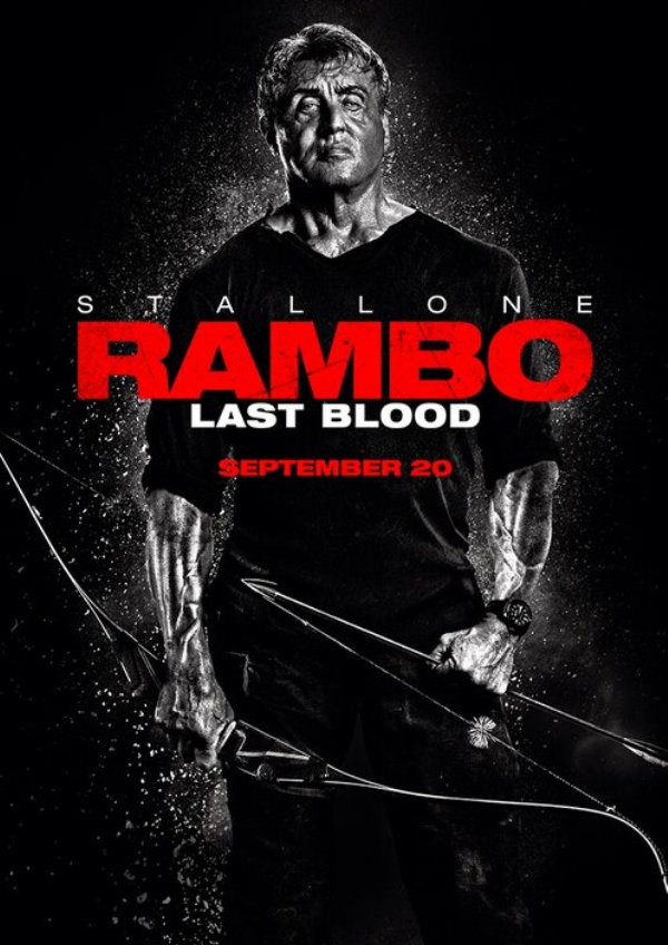'Rambo: Last Blood' movie poster