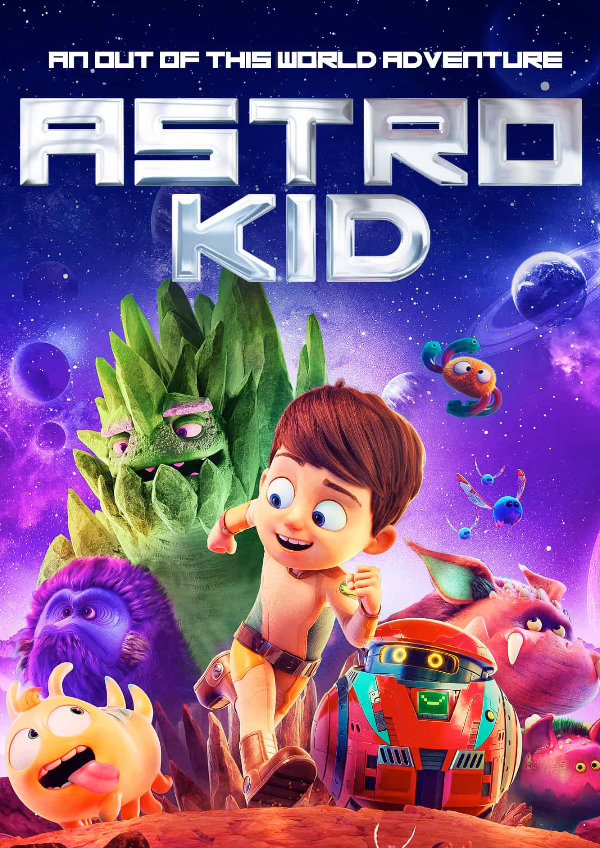 'Astro Kid' movie poster
