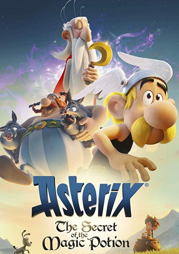 'Asterix: The Secret Of The Magic Potion' movie poster