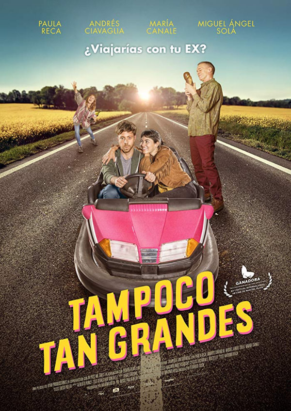 'Not Quite Adults (Tampoco Tan Grandes)' movie poster