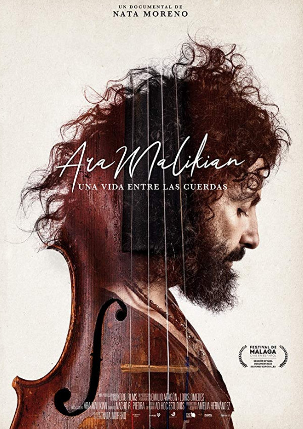 'Ara Malikian: A Life Among Strings (Una Vida Entre Las Cuerdas)' movie poster