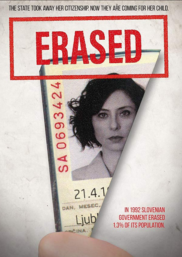 'Erased (Izbrisana)' movie poster