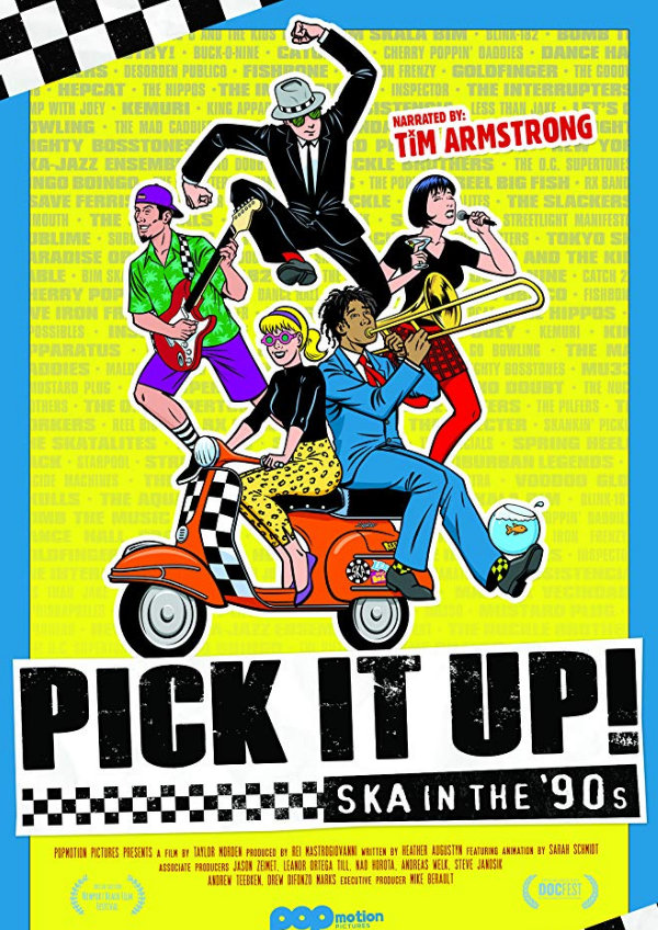'Pick It Up! Ska in the '90s' movie poster