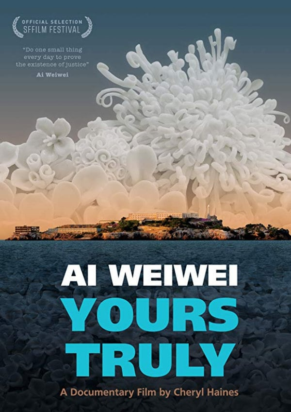 'Ai Weiwei: Yours Truly' movie poster