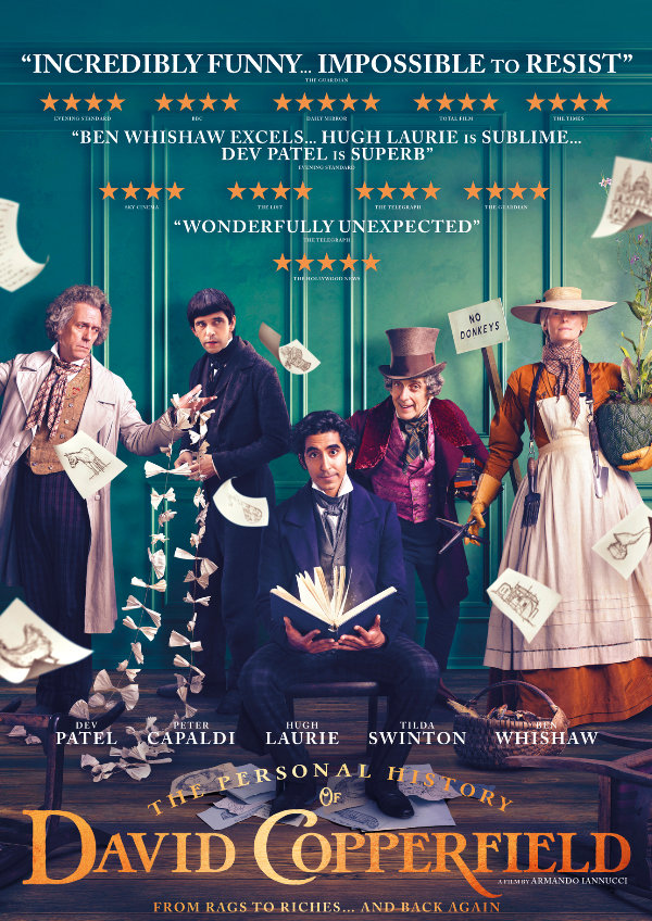 'The Personal History of David Copperfield' movie poster