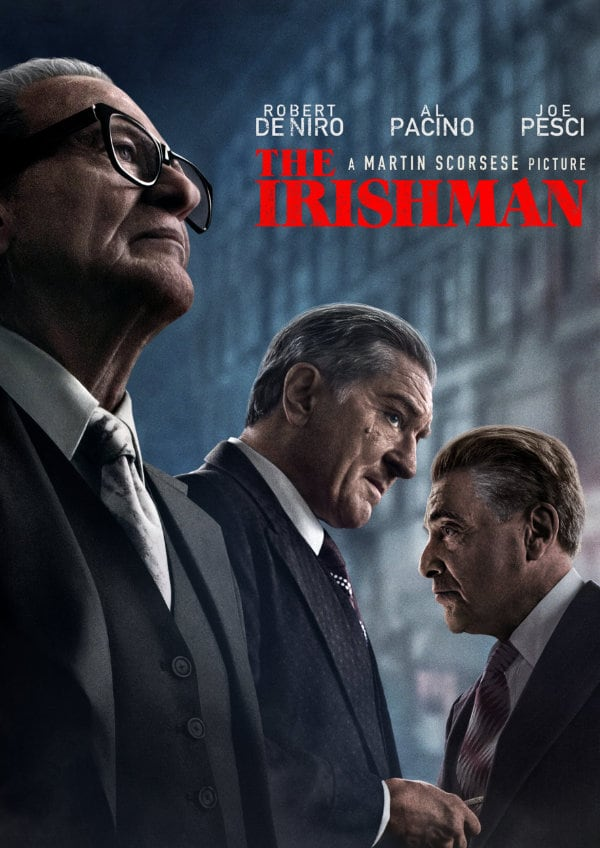 'The Irishman' movie poster