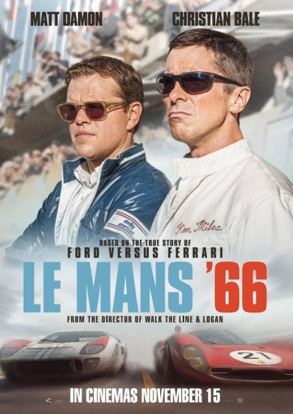 'Le Mans '66' movie poster