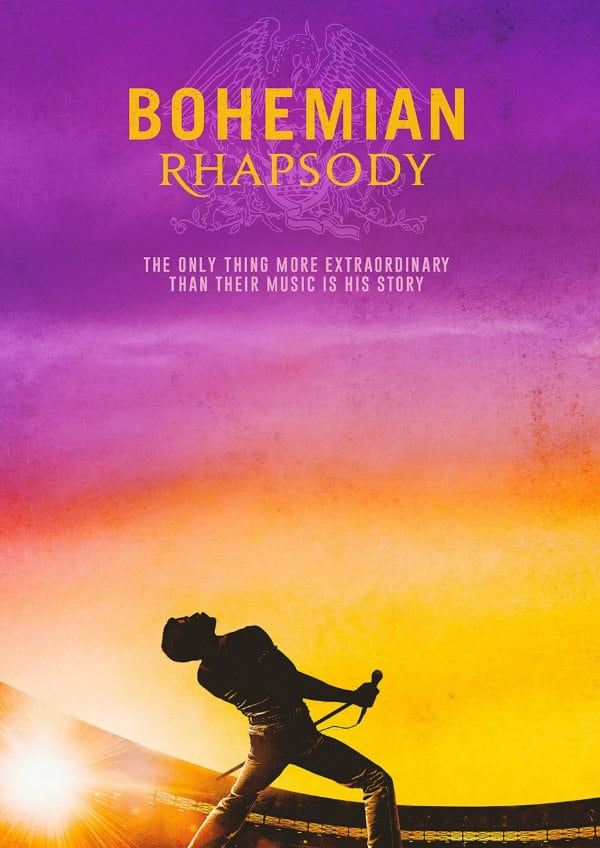 'Bohemian Rhapsody' movie poster