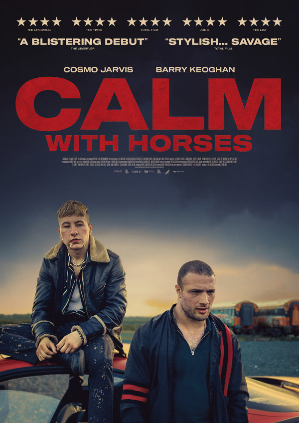 'Calm With Horses' movie poster
