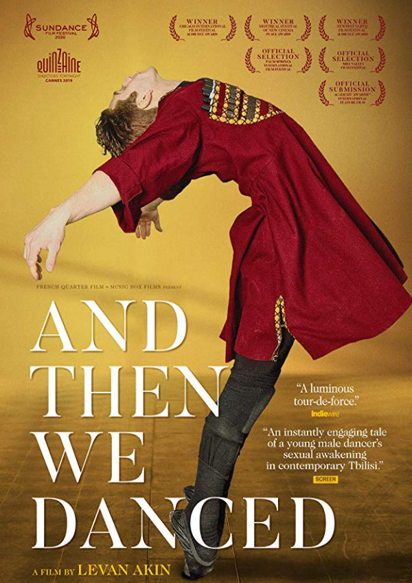 'And Then We Danced' movie poster