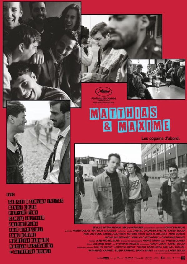 'Matthias & Maxime' movie poster
