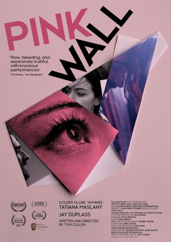 'Pink Wall' movie poster