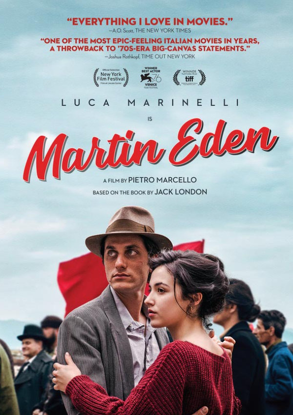 'Martin Eden' movie poster