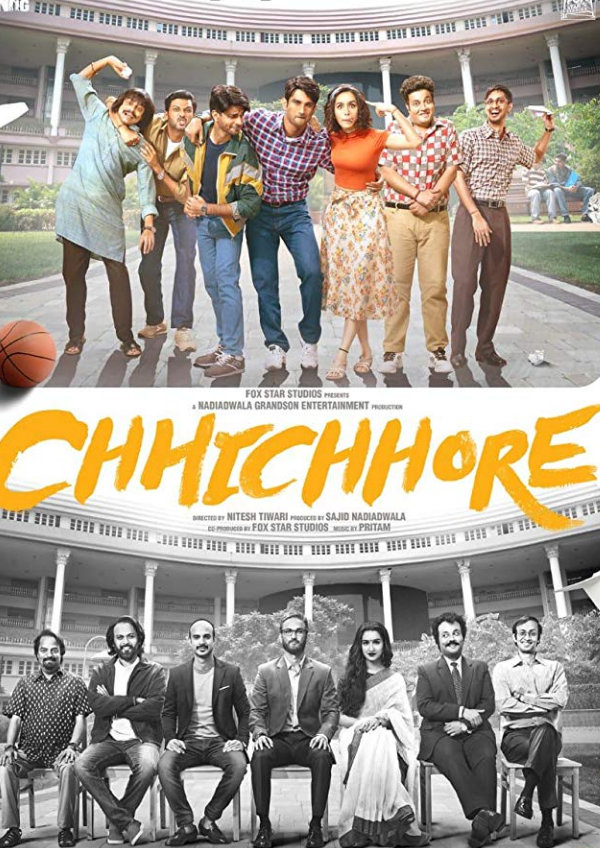 'Chhichhore' movie poster