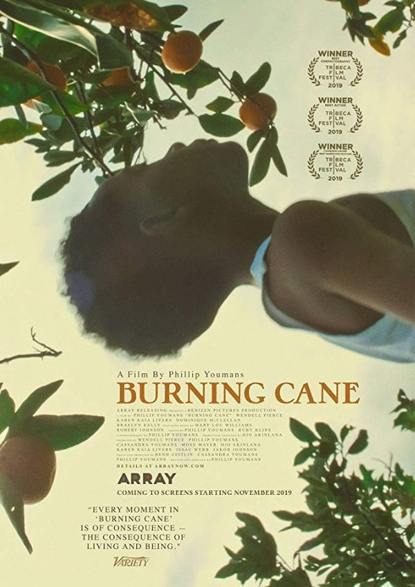 'Burning Cane' movie poster