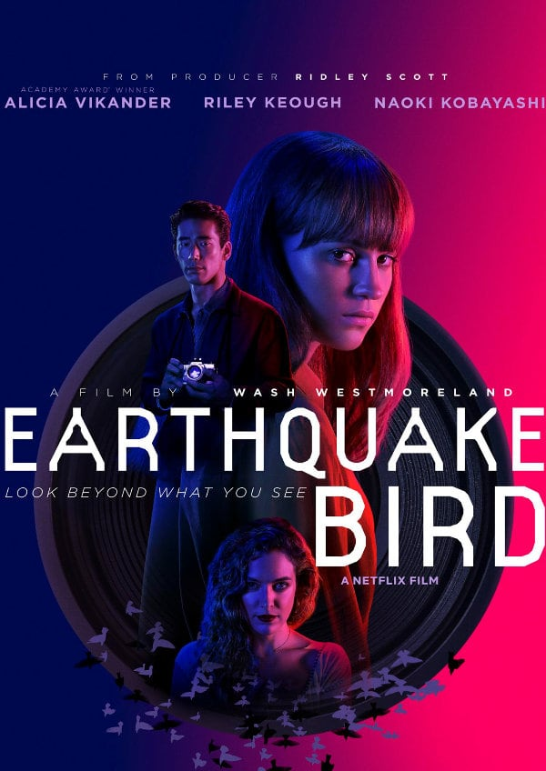 'Earthquake Bird' movie poster