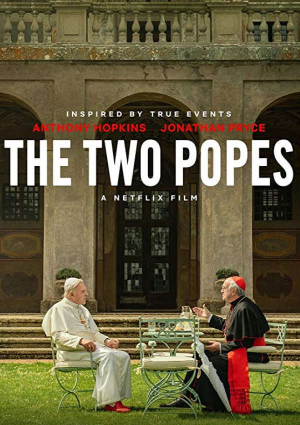 'The Two Popes' movie poster