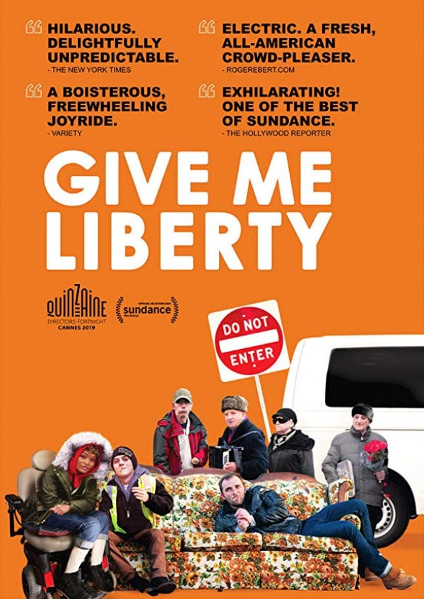 'Give Me Liberty' movie poster
