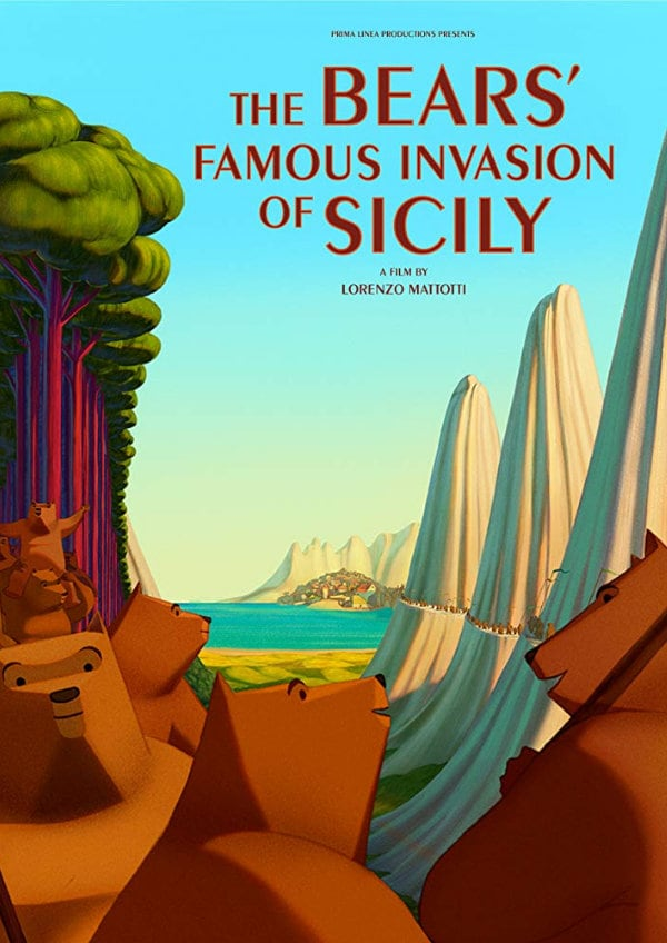 'The Bears' Famous Invasion of Sicily' movie poster