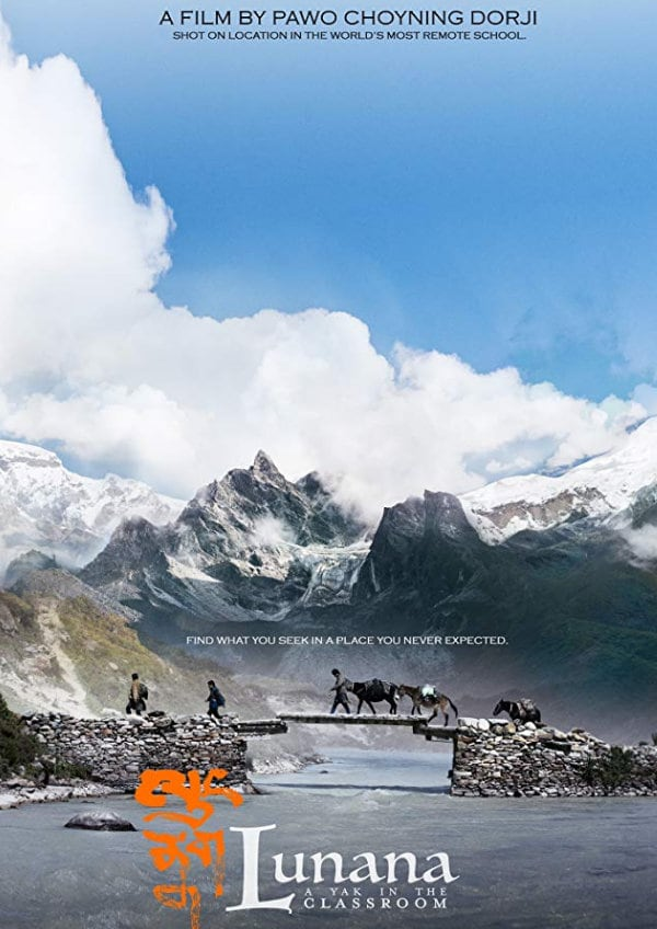 'Lunana: A Yak in the Classroom' movie poster