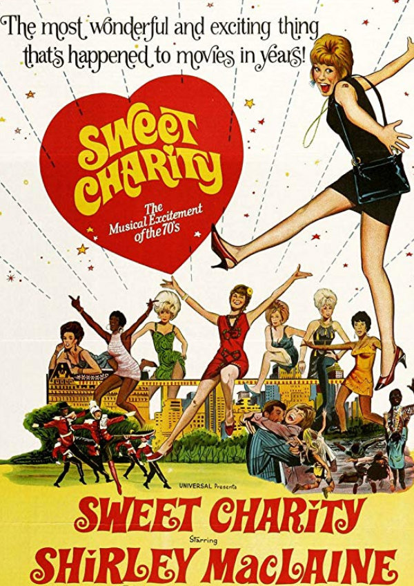 'Sweet Charity' movie poster