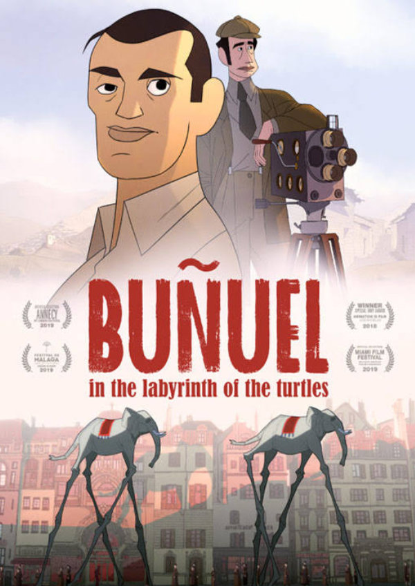 'Buñuel in the Labyrinth of the Turtles' movie poster