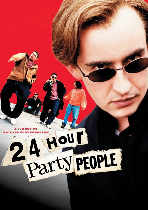 '24 Hour Party People' movie poster