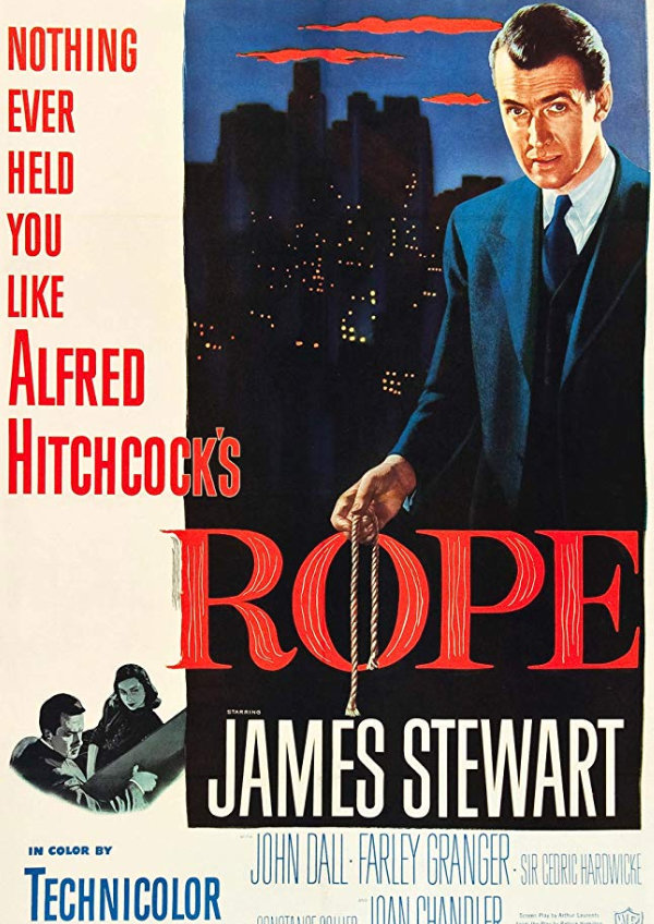 'Rope' movie poster