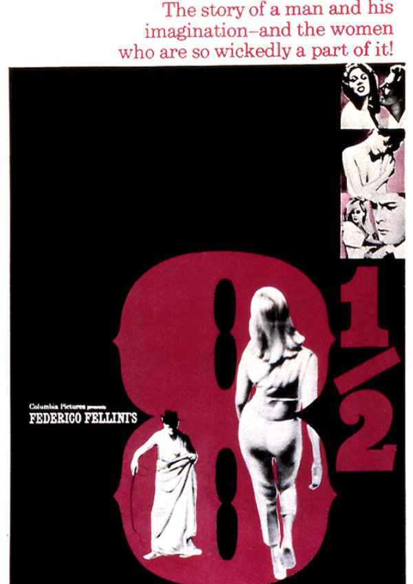 'Federico Fellini's 8 1/2' movie poster