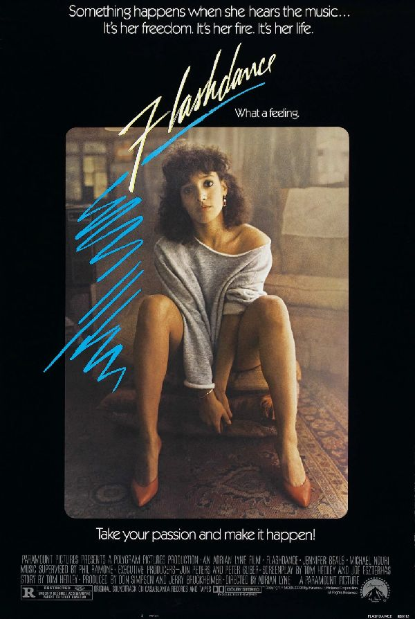 'Flashdance' movie poster