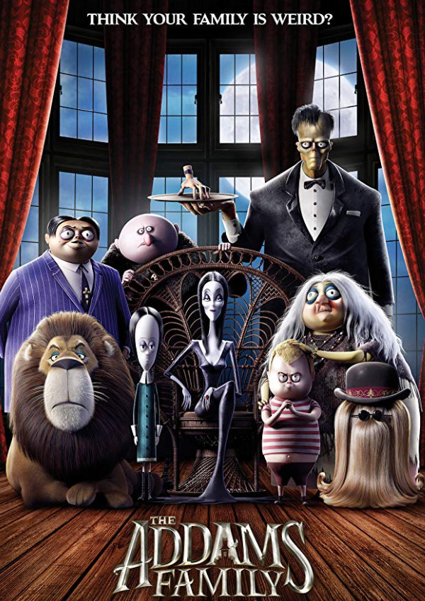 'The Addams Family (2019)' movie poster