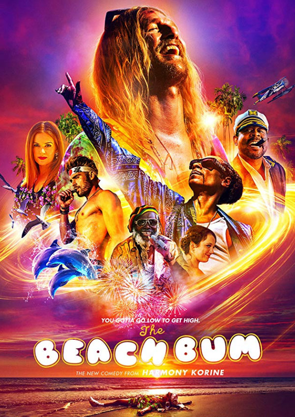 'The Beach Bum' movie poster