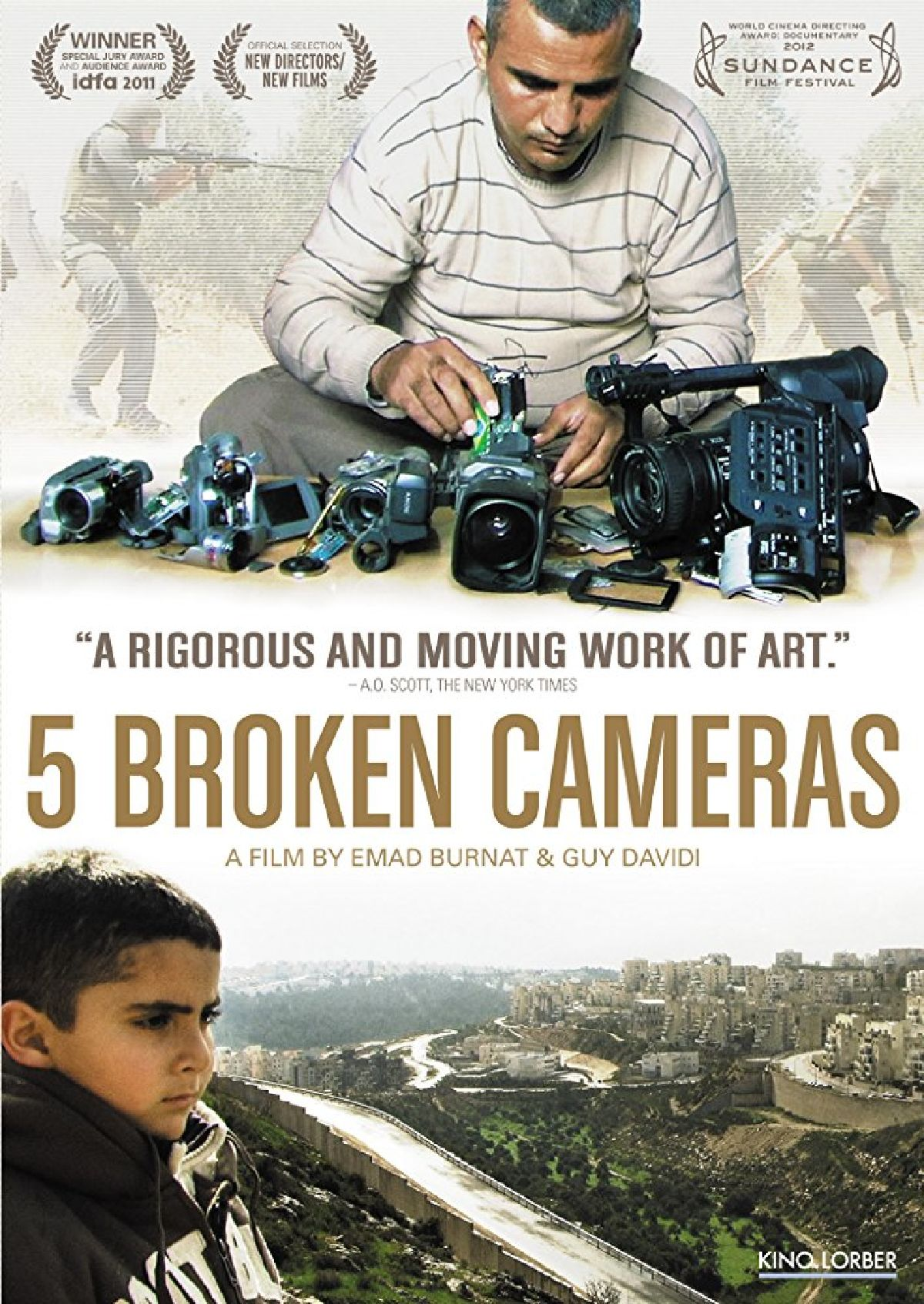 '5 Broken Cameras' movie poster