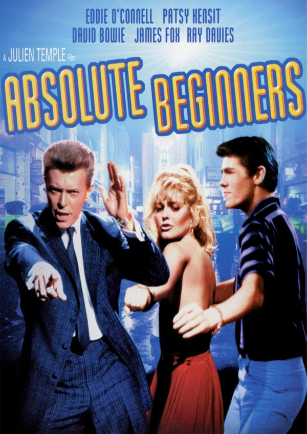 'Absolute Beginners' movie poster