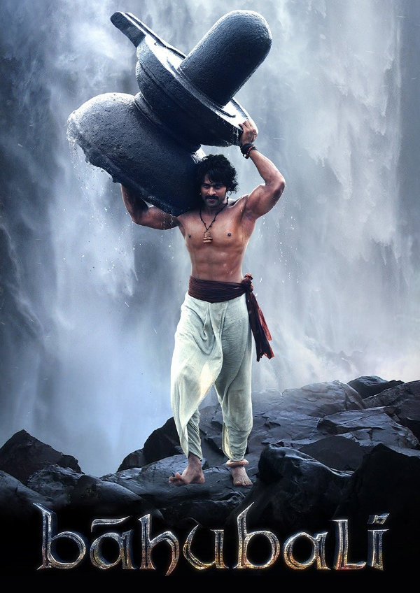 'Baahubali: The Beginning (Malayalam)' movie poster