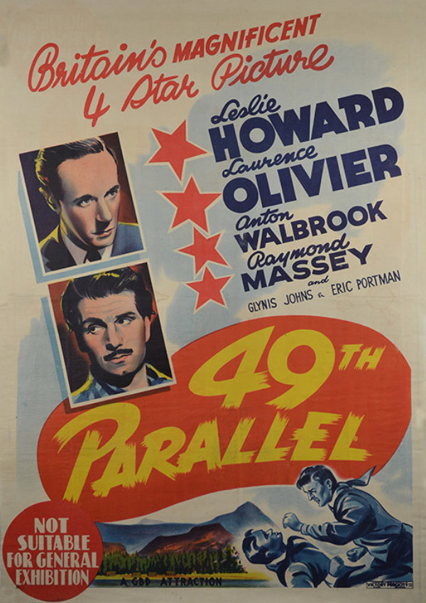 '49th Parallel' movie poster